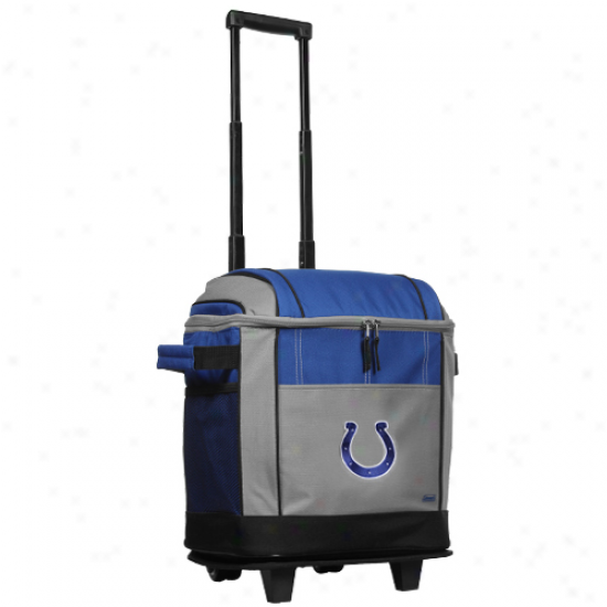 Coleman Indianapolis Colts 50-can Rolling Cooler
