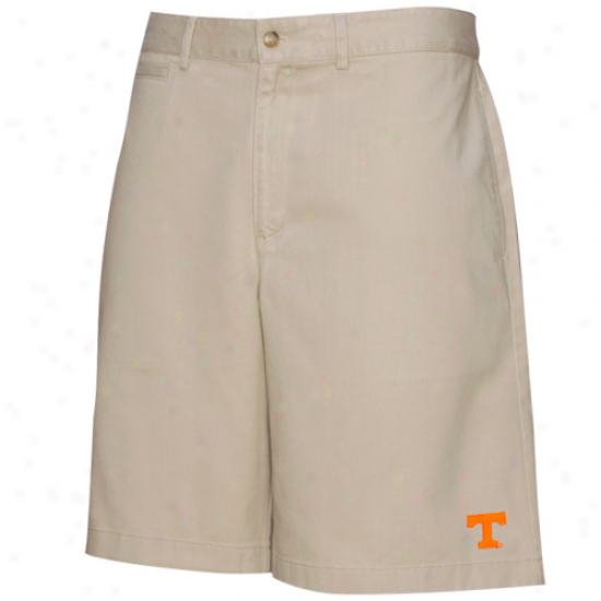 Colony Sportswear Tennessee Volunteers Khaki Campus Chino Shorts
