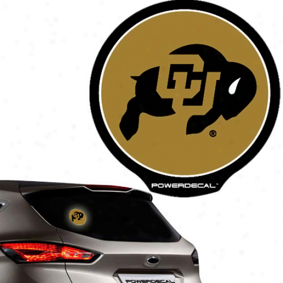 Colorado Buffaloes Backlit Led M0tion Sensing Powerdecal