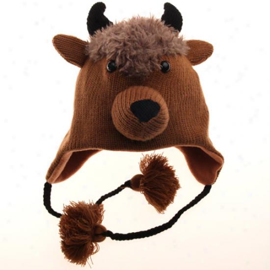 Colorado Buffaloes Mascot Knit Beanie