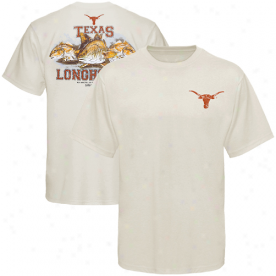Columbia Texas Longhorns Go Full Redfish T-shirt - Choice part