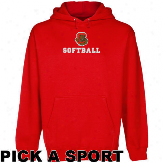 Cornell Big Red Re dCustom Sport Logo Applique Midwright Pullo\/er Hoody -