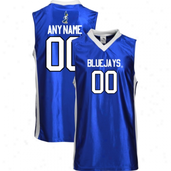 Creighton Bluejays Personaalized Replica Basketball Jersey - Royal Blue