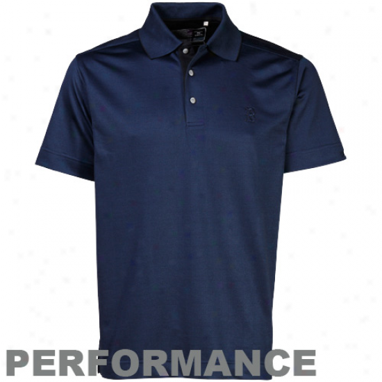 Cutter & Buck Boston Red Sox Nagy Blue Nano Luxe Carter Performance Polo