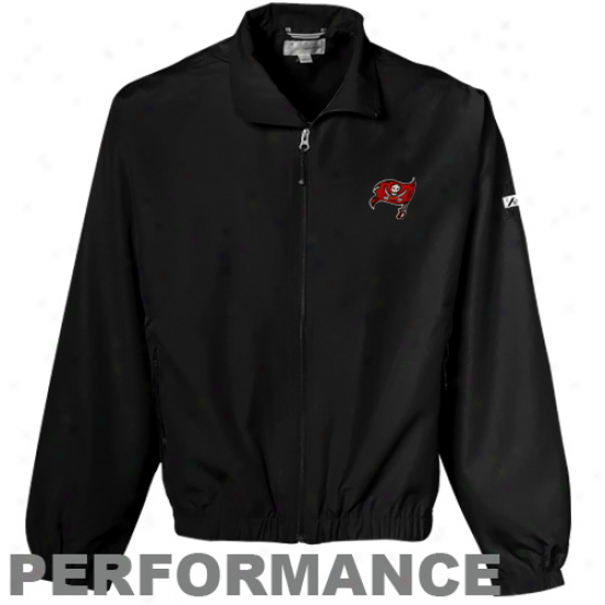 Cutter & Bufk Tampa Bay Buccaneers Black Weathertec Bainbridge Performance Jacket