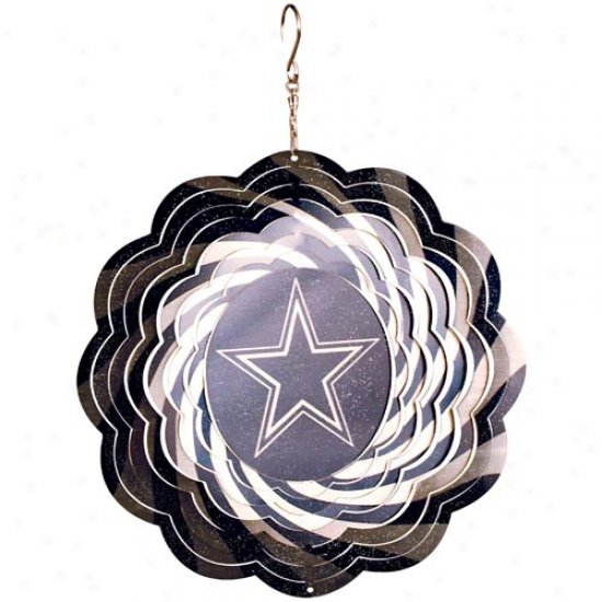 Dallas Cowboys 10'' Geo Wind Spinner