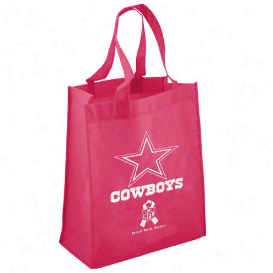 Dallas Cowboys Pik Breast Cancer Awareness Reusable Bag