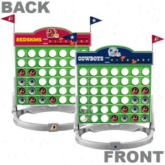 Dallas Cowboys Vs. Washington Redskins Connect Four