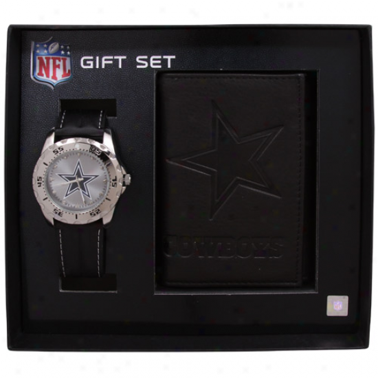 Dallas Cowboys Watch & Bag Set