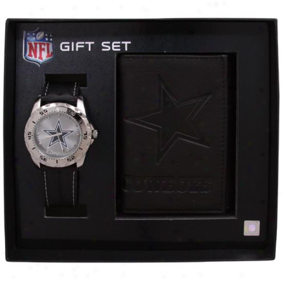 Dallas Cowboys Watch & Bag Set