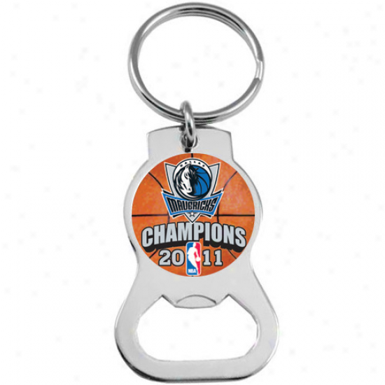 Dallas Mavericks 2011 Nba Champions Bottle Opener Key Ring