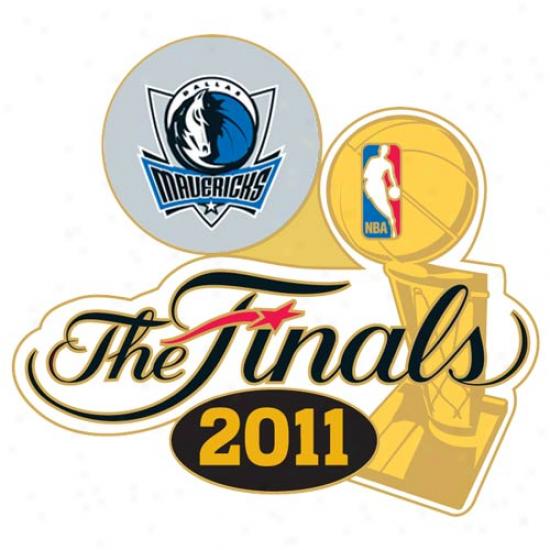 Dallas Mavericks 2011 Nba Finals Bound Commemorative Team Pin