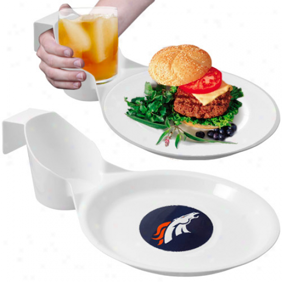 Denver Broncos 2-pack Ultimate Party Plate