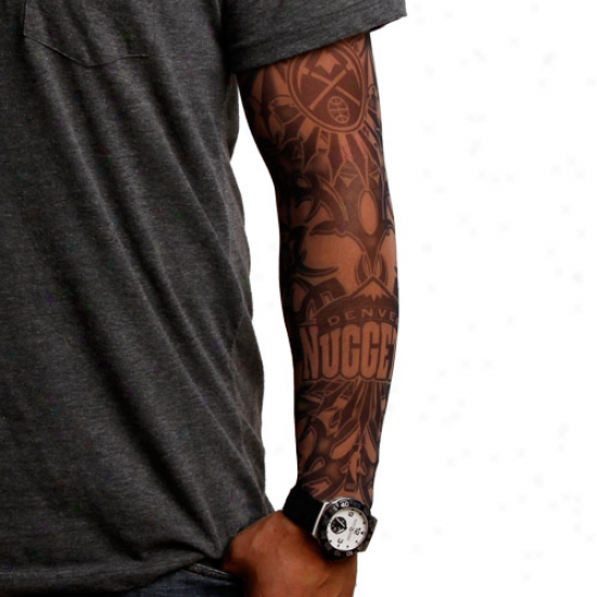Denver Nuggets Dark Undertone Tattoo Sleeve