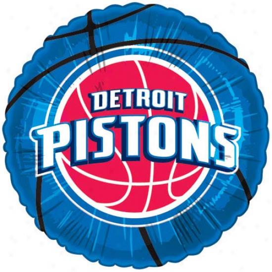Detroit Pistons 18'' Game Day Mylar Balloon