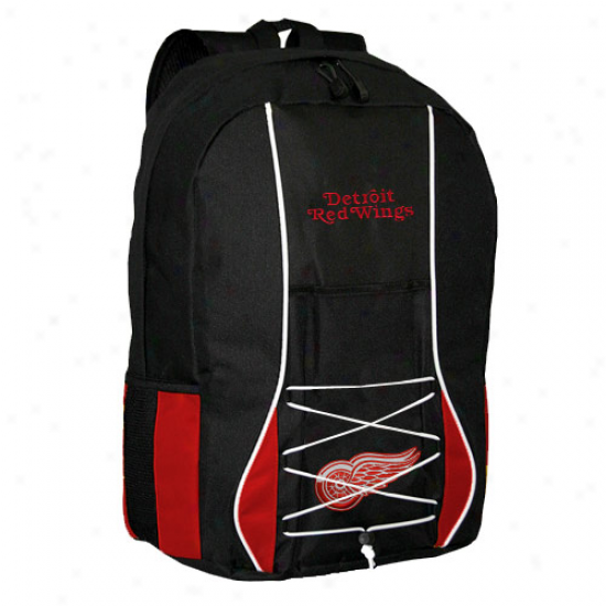 Detroit Red Wings Black-red Scrimmage Backpack