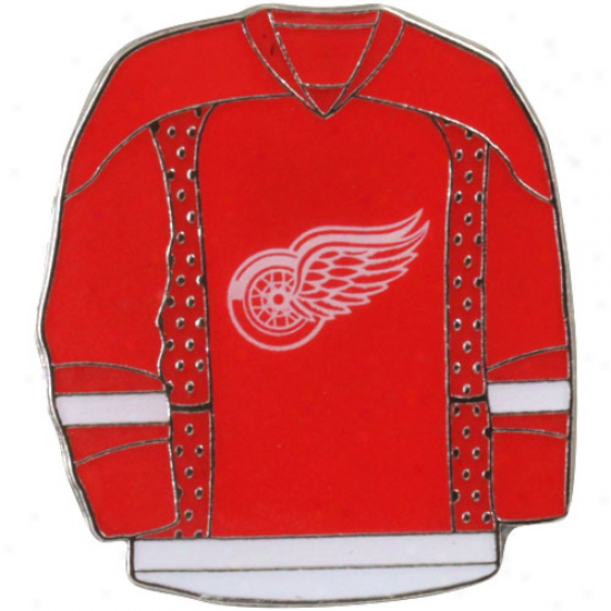 Detroit Red Wings Jersey Pin-