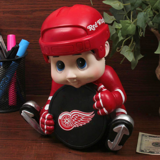 Detroit Red Wings Kids Hocke Player Bank