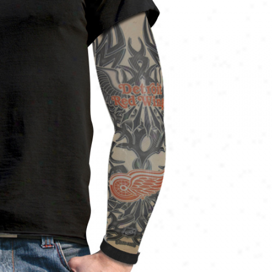 Detroit Red Wings Light Undertone Tattoo Sleeve