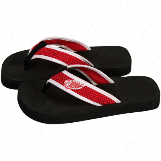 Detroit Red Wings Unisex Basic Flip Flop - Red