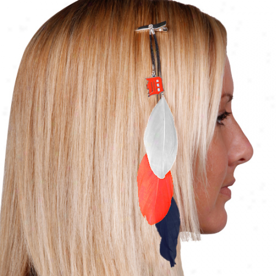 Detroit Tigers Feather Har Clip