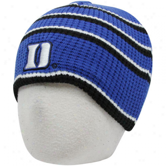 Duke Blue Devils Infant Duke Blue-white Replay Thermal Beanie