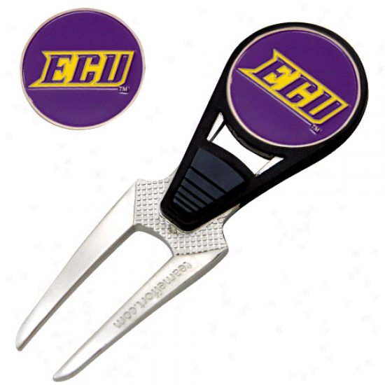 East Carolina Pirates Divot Tool & Ball Marker Stake