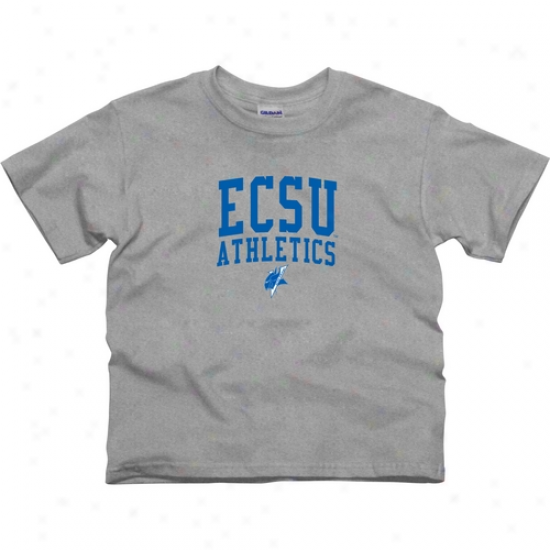 Ecsu Vikings Youth Athletics T-shirt - Ash