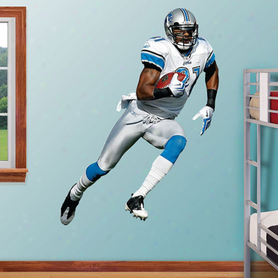 Fathead Calvin Johnson Detroit Lions Player WallG raphics