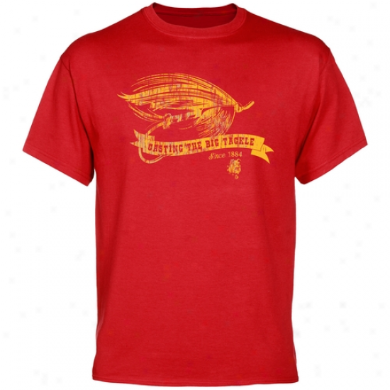 Ferris State Bulldogs Tackle T-shirt - Red