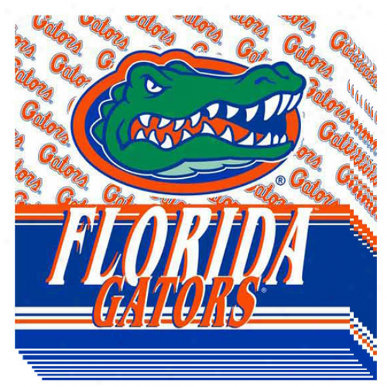 Florida Gators 16-pack Luncheon Napkins
