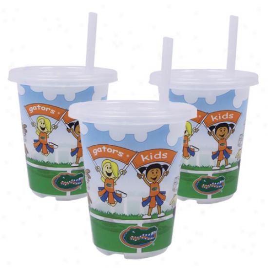 Florida Gators 3-pack 10oz. Sip N 'Go Plastic Cups