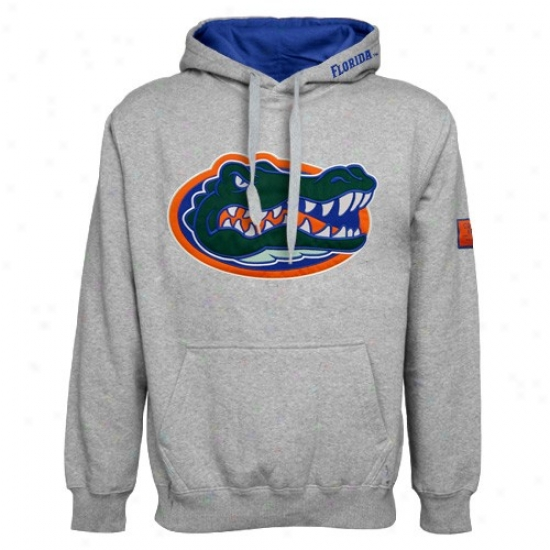 Florida Gators Ash Automatic Hoody Sweatshirt