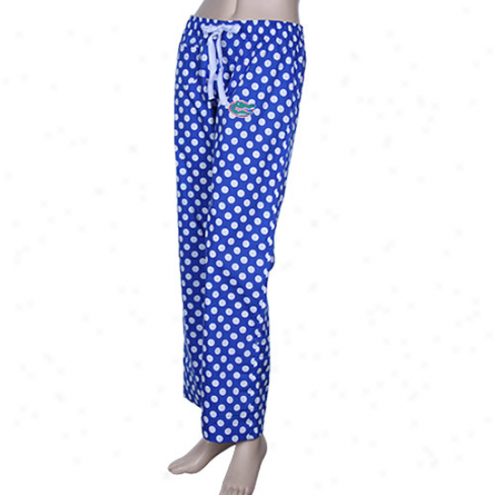Florida Gators Ladies Magnificent Dismal Splendid assemblage Pajama Pants -