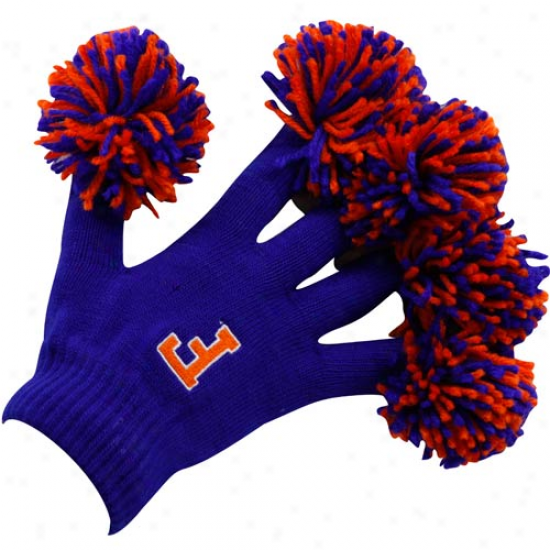 Florida Gators Royal Blue Sprit Fingerz Gloves