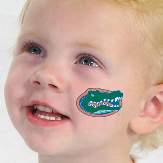 Florida Gators Team Logo Temporary Tattoos