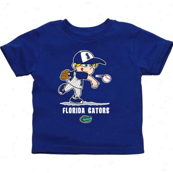 Florida Gators Toddler Boys Baseball T-shirt - Royal Blue