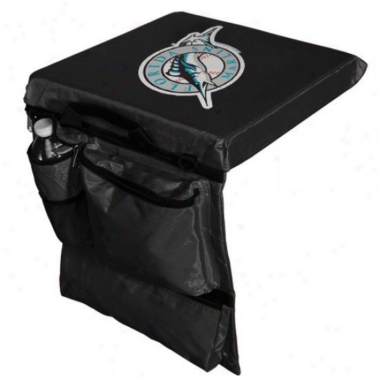 Florida Marlins Black Utility Stadium Seat Cushion