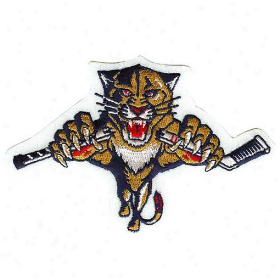 Florida Pantherq Embroidered Team Logo Collectible Patch