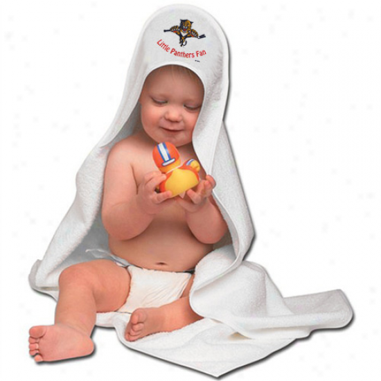 Florida Panthers Hooded Baby Towel