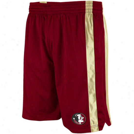 Florida State Seminoles (fsu) Garnet Skirmish Basketball Shorts
