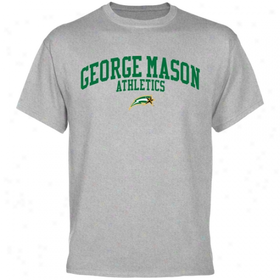 George Mason Patriots Athletics T-shirt - Ash