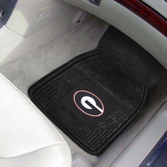 Georgia Bulldogs 2-pack Vinyl Car Mats