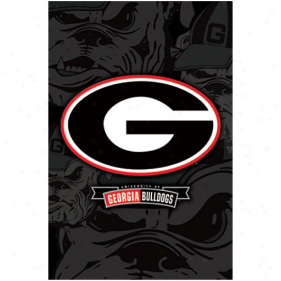 Georgia Buildogs 22' 'X 34'' Logo Poster