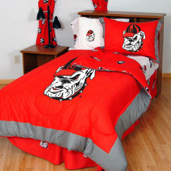 Geprgia Bulldogs Collegiate Bed In A Bag Set