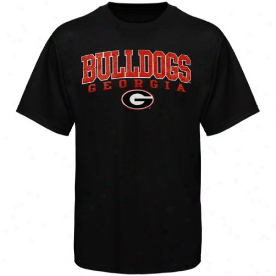 Georgia Bulldogs Crosby T-shirt - Black