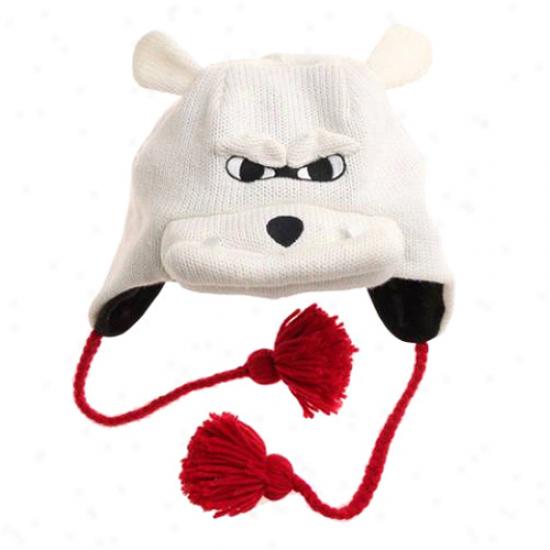 Georbia Bulldogs Mascot Knit Beanie -