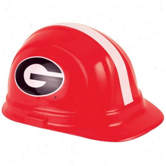 Georgia Bulldogs Red Professional Hard Hat