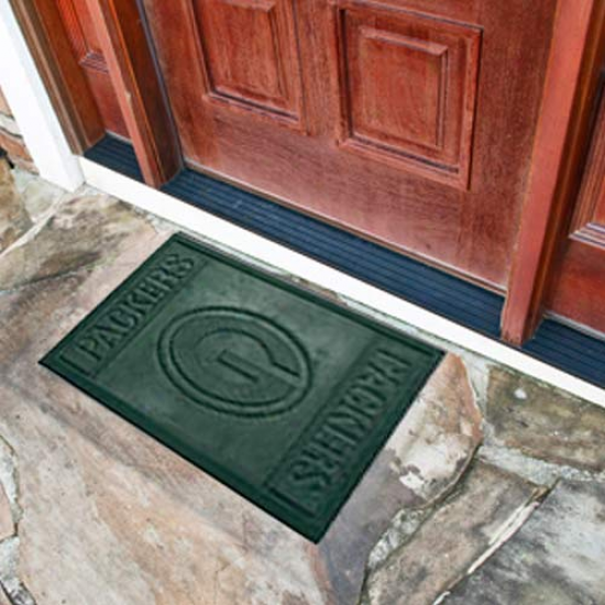 Green Bay Packers Green Absorbent Door Mat