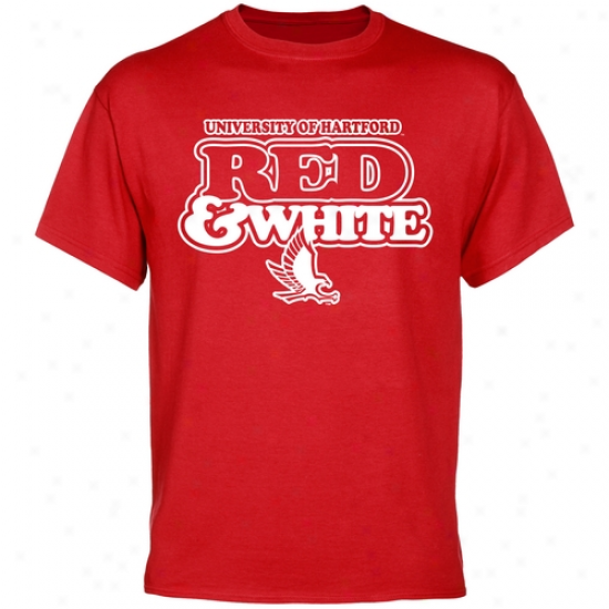 Hartford Hawks Our Colors T-shirt - Red